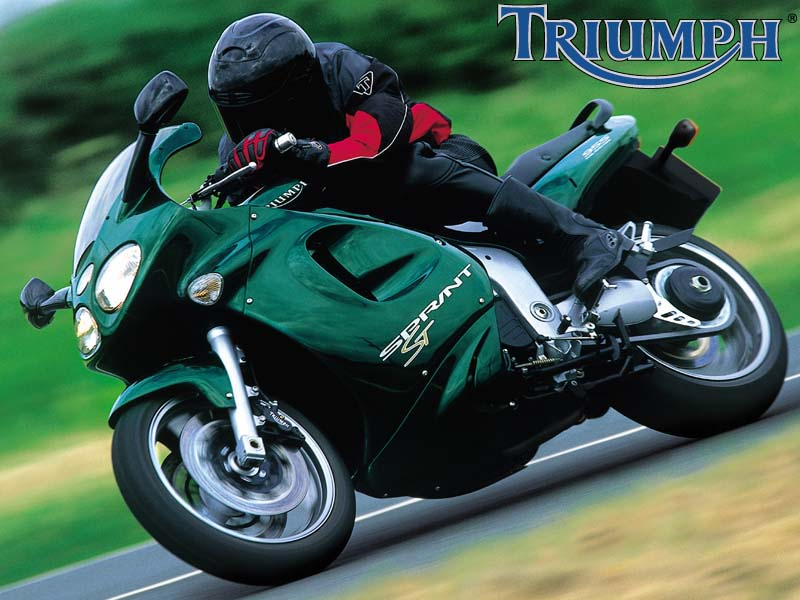 2002 Triumph Sprint ST 955i Photo Courtesy of Triumph Motorcycles America.