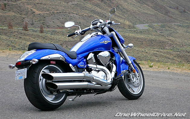 2007 Suzuki M109R LE – Looks and Confidence Too – OneWheelDrive.Net
