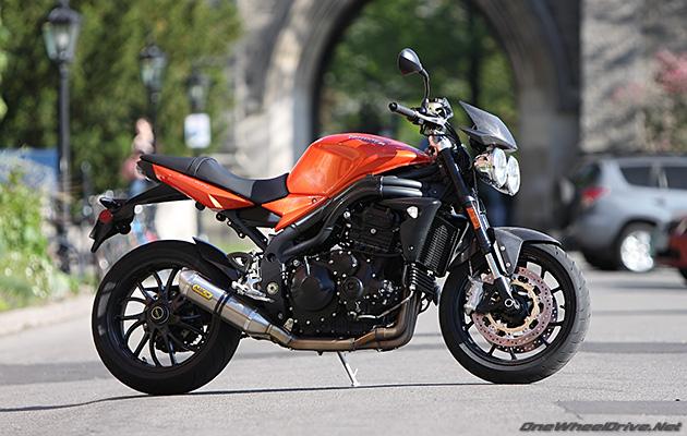 2008 Triumph Speed Triple – OneWheelDrive.Net
