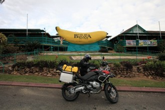 Joe and the GSA at the big banana in Coffs Harbour