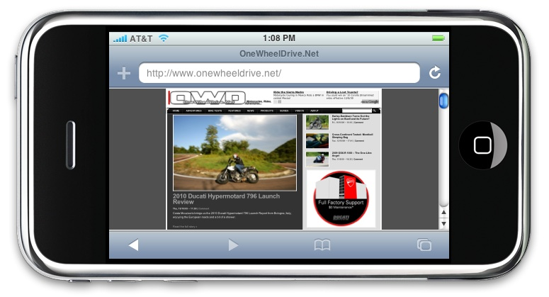 Will Apple Apps Save Motorcycle Magazines and Journalism?