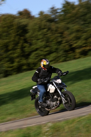 European roads and a new Hypermotard 796. Joy!