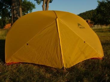 MSR Hubba Hubba 2 Person Three-season Tent Back View