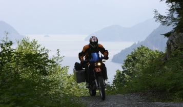Glenn and his KTM 640 Adventure
