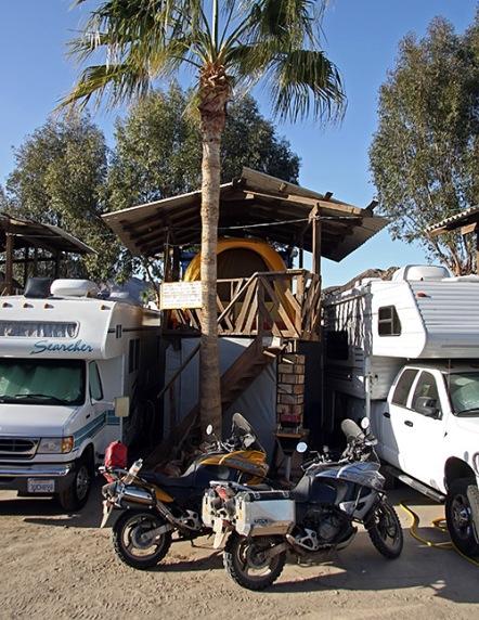 Camping at Kiki's... Palapa Tenting