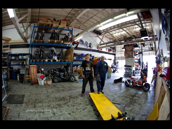 Motomethod partners Simon and Paul.