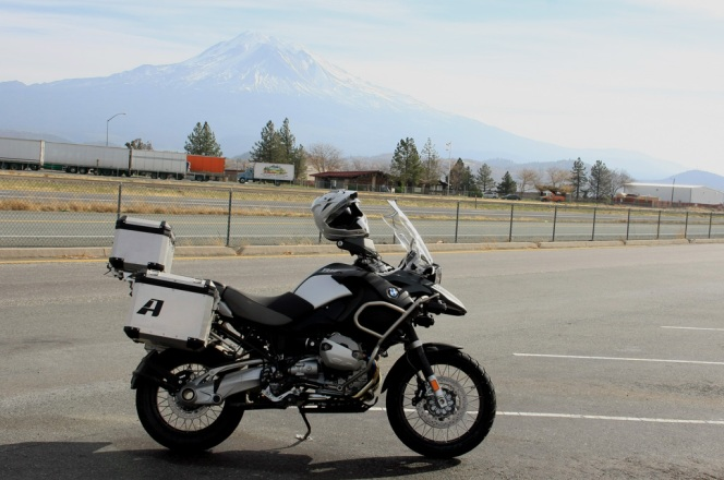GSA in front of Mount Shasta