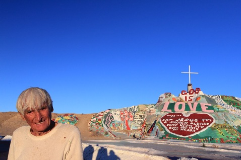 Leonard Knight and Salvation Mountain