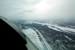 flight over fort mac
