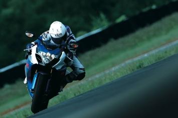 GSX-R Ride Shot: Courtesy of Suzuki