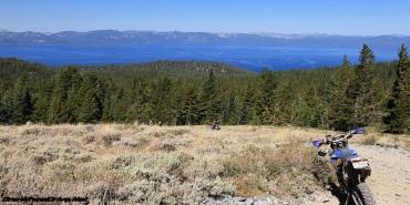 Genoa Peak Trail above Tahoe.