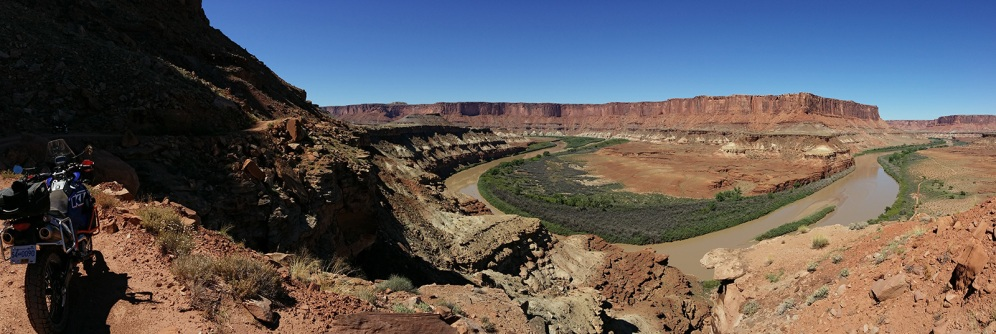 A great view of the Green River