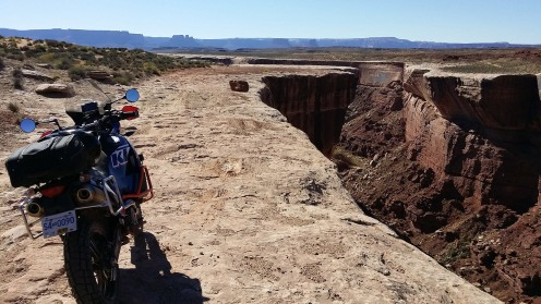 The slick rock road leads to your doom if you don't pay close attention
